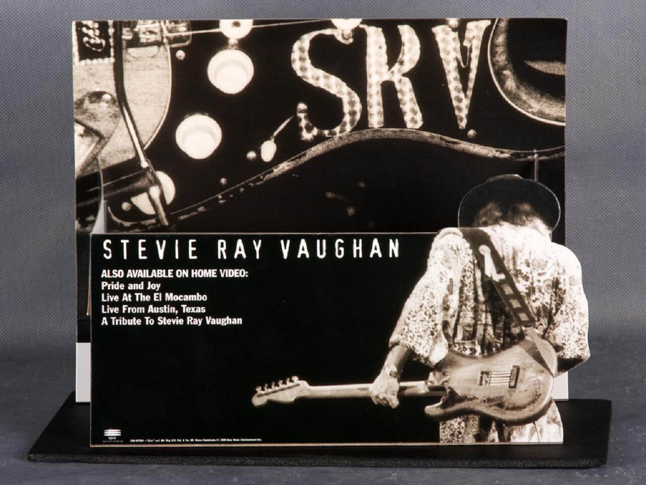 Stevie Ray Vaughan Store Video  Display