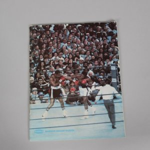 Sept. 19,1977 Muhammad Ali vs. Earnie Shavers On-Site at Madison Square Garden Boxing Match Program