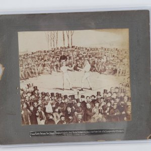 Vintage Tom Sayers vs John C. Heenan Apr 17, 1860 Photo Engraving