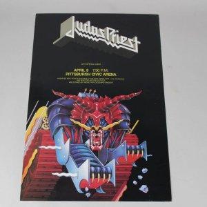 Judas Priest Concert Poster