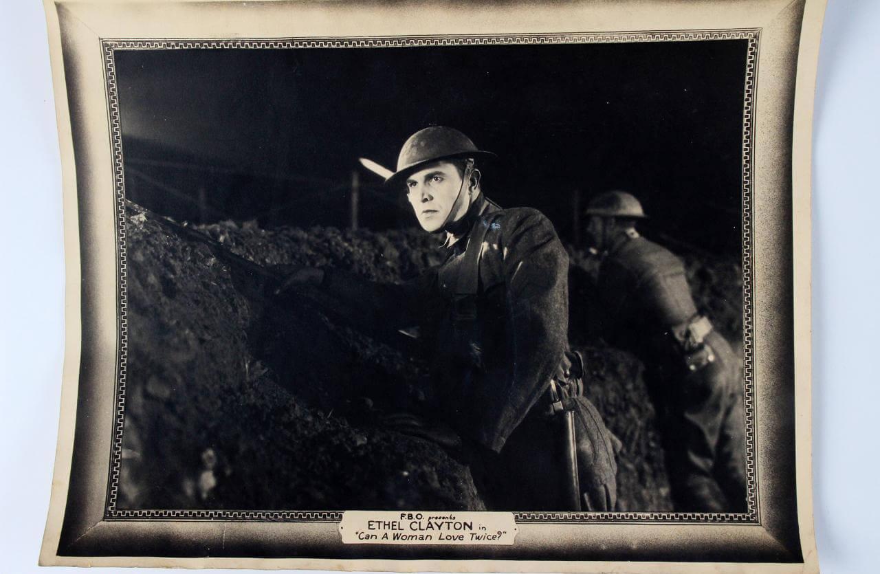 Original 1923 Ethel Clayton - Can a Woman Love Twice? Film 11x14 Lobby Card