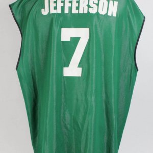 Boston Celtics - Al Jefferson Game-Worn Las Vegas NBA Summer League Reversible Jersey
