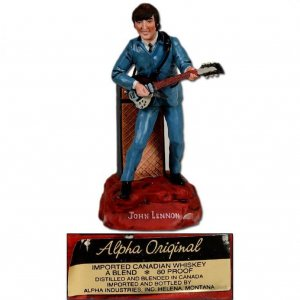 John Lennon  Decanter Whiskey BEATLES 50th Anniversary Celebration