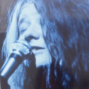 Rock Legend Singing on Stage - Janis Joplin 8x10 Headshot Photo (feat. Photographer Don Aters Seal)