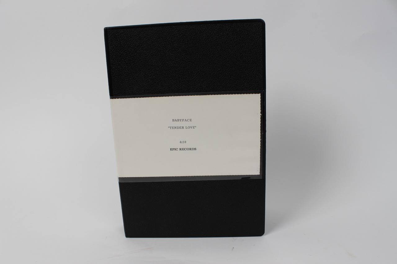 "1998 Kenny Edmonds ""Babyface""-Tender Love Music Tape- Signed Checks, Promo Photos & Paperwork - COA"