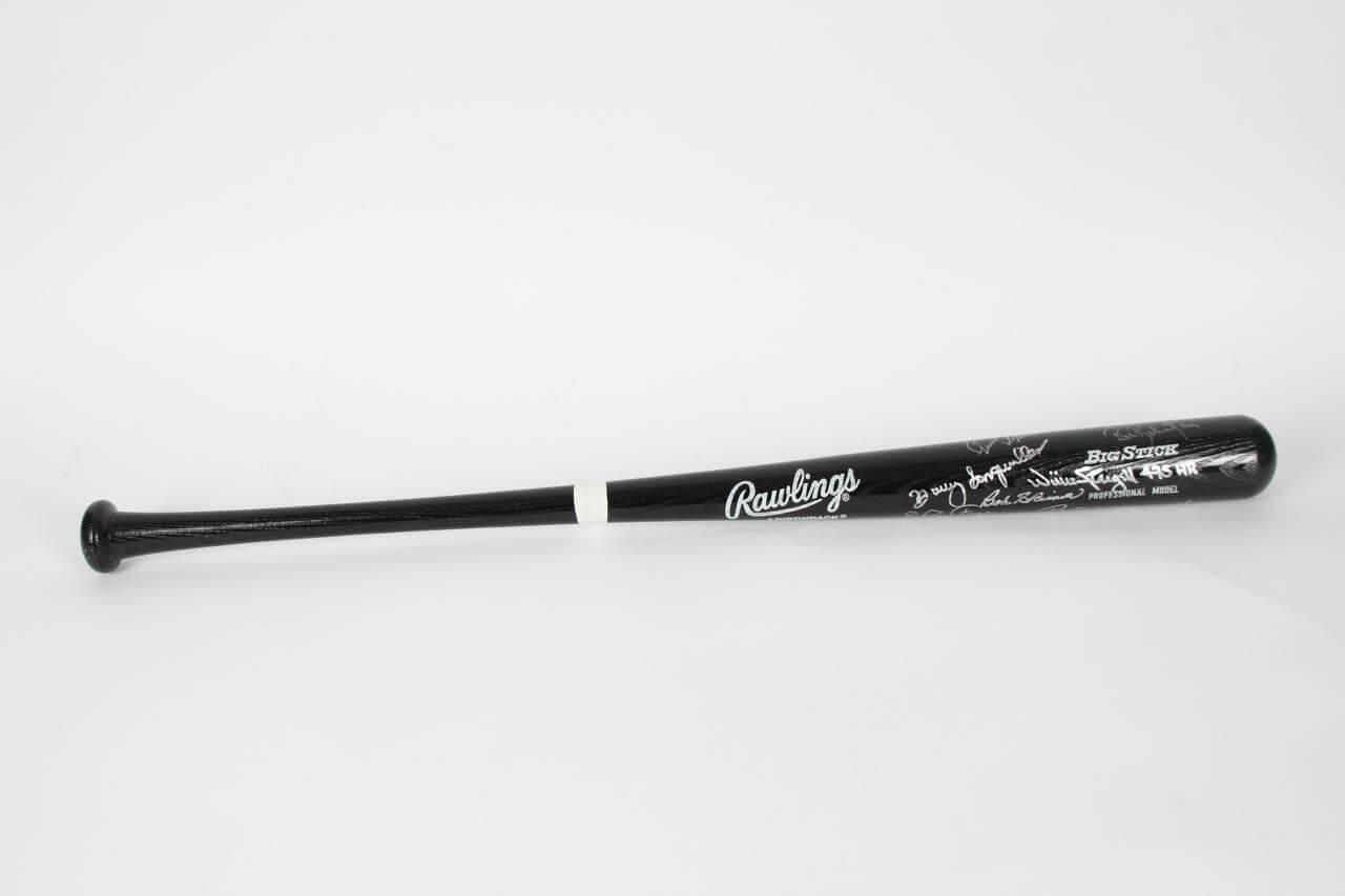 Pittsburg Pirates Team Reunion Signed Baseball Bat - COA