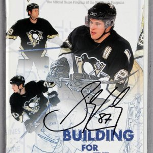 Sidney Crosby Signed 2006 IceTime