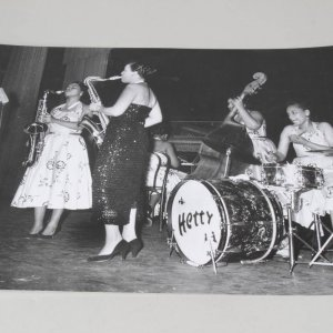 Teenie Harris 11x14 Photo - Hetty Jazz Ladies Band