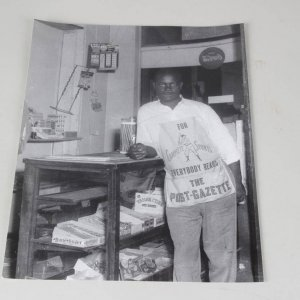 Teenie Harris 11x14 Photo - Man at the Corner Store