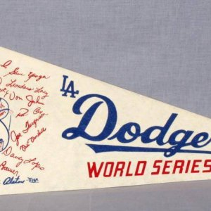 1974 Los Angeles Dodgers World Series Pennant