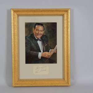 Band Leader & Violinist - Guy Lombardo Signed