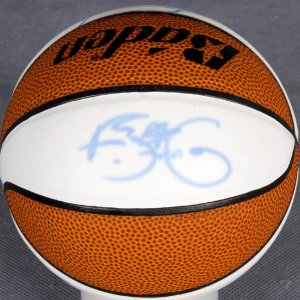 Signed Mini-Basketball - Steve Francis etc.