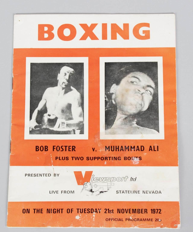Muhammad Ali Vs. Bob Foster