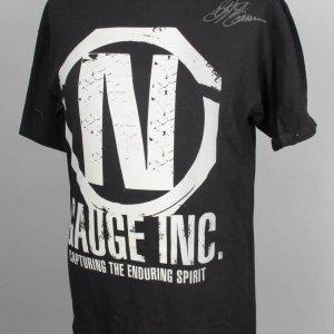 UFC Fighter - Stephan Bonnar Signed Gauge Inc. Walk-Out T-Shirt (Holo. 7405)