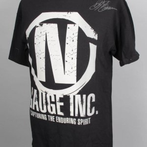 UFC Bellator MMA Fighter - Stephan Bonnar Signed Autographed Walk Out Torque N Gauge Inc. Shirt (L)
