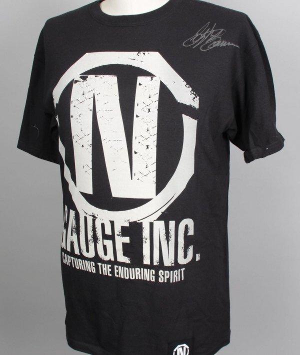 UFC Bellator MMA Fighter - Stephan Bonnar Signed Autographed Torque N Gauge Inc. Shirt (L)