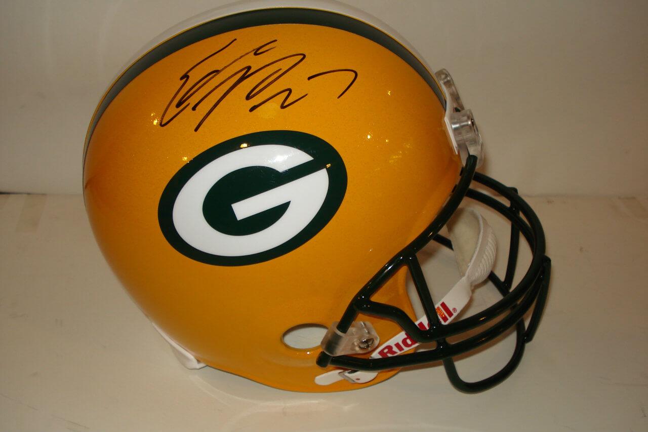 Green Bay Packers - Eddie Lacy Signed Full Size Helmet (JSA COA)