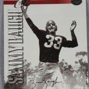 Washington Redskins - Sammy Baugh Signed 8X10 Leaf Old School Draft Days Photo Card