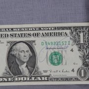 San Francisco 49ers - Joe Montana Signed Dollar Bill (JSA COA)