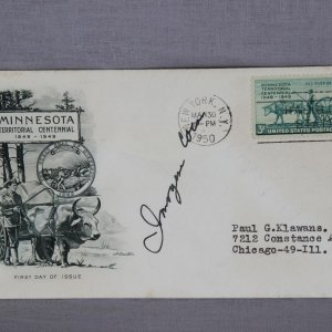 Actress - Imogene Coca Signed Cachet First Day Cover FDC
