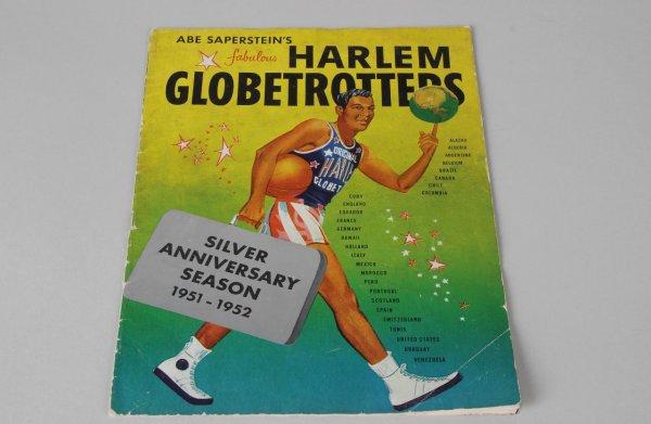 1952 Silver Anniversary - Harlem Globetrotters Program