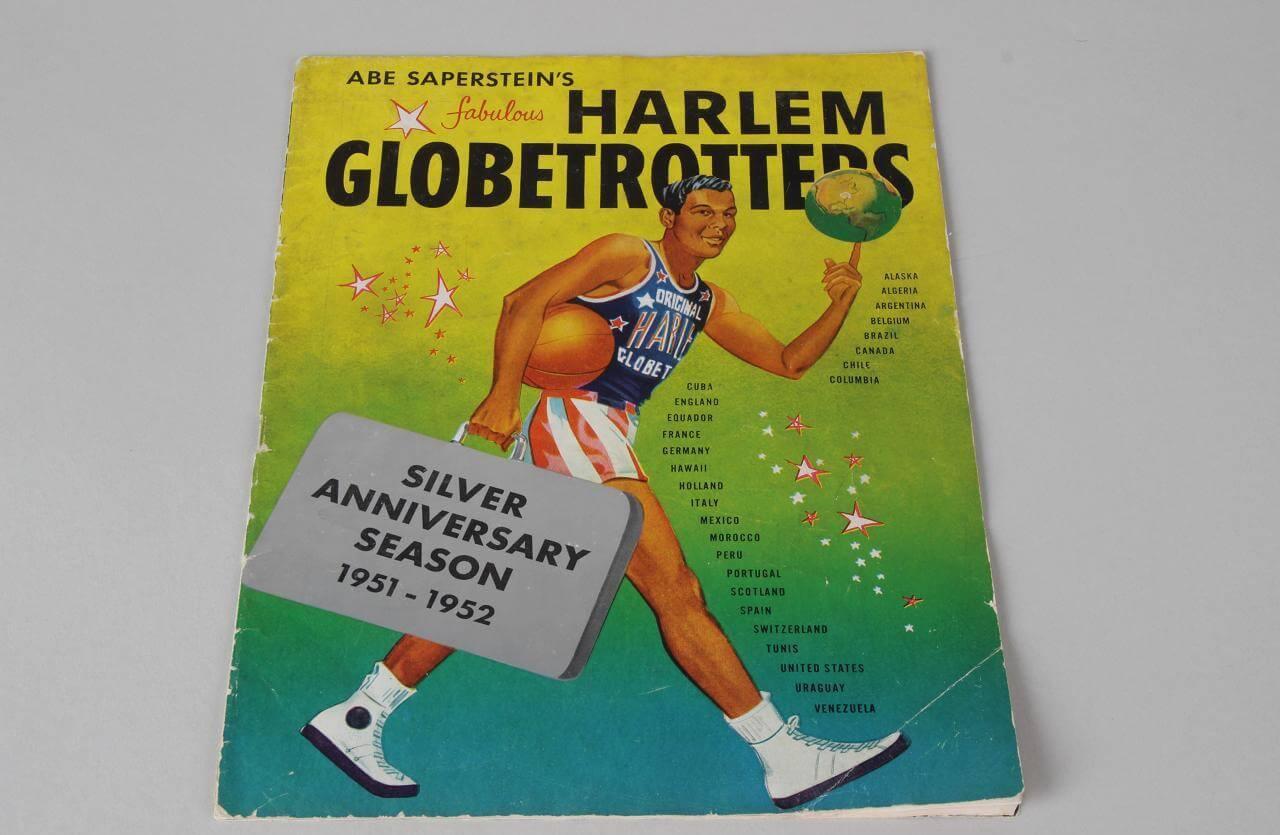 Harlem Globetrotters Program 1952 Silver Anniversary