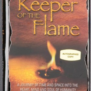 Keeper of the Flame Hardcover Book Signed by Author Jim Stovall - COA