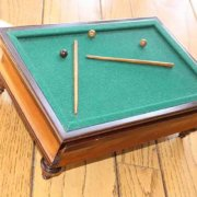 1930's Vintage Box Billiard Table from the Penny Marshall Collection