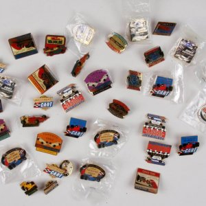 Auto Racing Participant 36  Pins From 1985 -To-2003