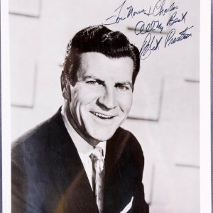 Robert Preston  The Music Man Signed & Inscribe ( All My Best) 8x10 B&W Photo