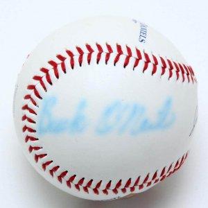 Negro Leaguer - Buck O'Neil Signed Baseball (PSA/DNA Sticker)