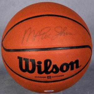 Lakers - Magic Johnson Signed Basketball (PSA/DNA COA)
