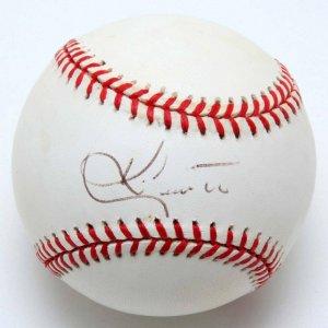 Astros - Ken Caminiti Signed Baseball (PSA/DNA )