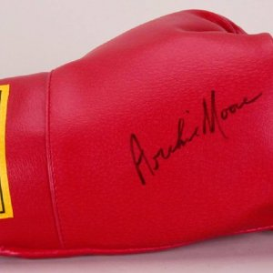 Archie Moore Signed Everlast Boxing Glove
