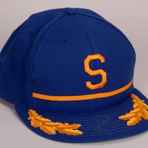 Rare! Seattle Pilots - Jim Bouton Signed Baseball Hat - COA PSA/DNA