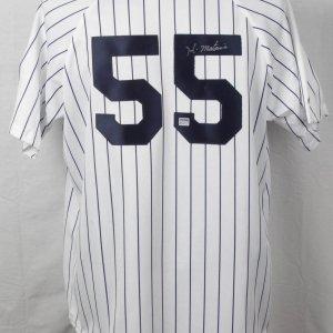 New York Yankees - Hideki Matsui Signed Home Jersey-PSA-DNA