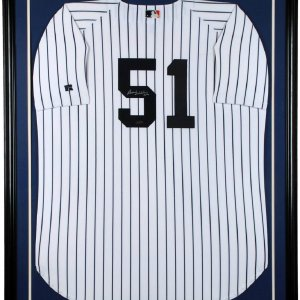 New York Yankees - Bernie Williams Signed Jersey Display (Steiner Holo)
