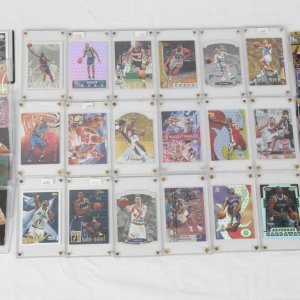 Modern Card Lot of HOF NBA Guards Inserts, Rookies & Premiums Incl. Kobe Bryant, Jason Kidd, Grant Hill, Tony Parker etc.