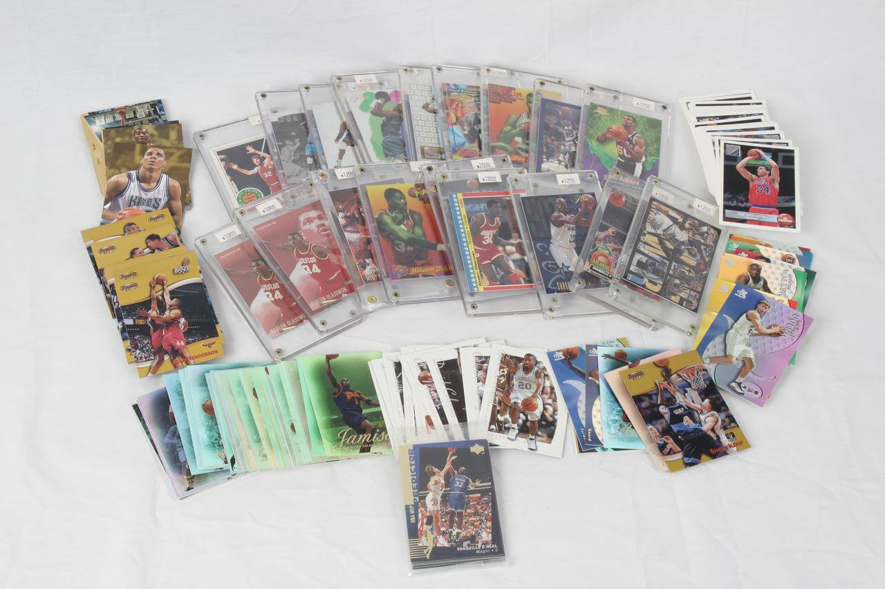 Modern Card Lot of HOF NBA Centers - Premiums, Inserts, (160+ Cards)