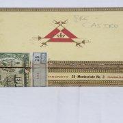 Pre-Embargo Pre -C. a. s. t. r. o Cabinet Selection Monte Cristo Habana Menendez Y Garcia  Box