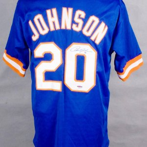 New York Mets - Howard Johnson Signed Jersey
