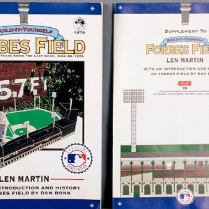 Build-It-Yourself Forbes Field Magazine & Supplement