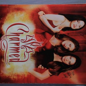 Charmed TV Series Poster Signed by Holly Marie Combs