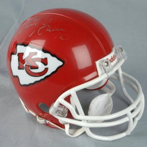Trent Green Signed Chiefs Mini-Helmet