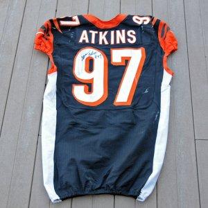 2012 Bengals Geno Adkins Game-Worn Jersey