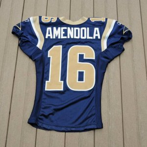 2010 St. Louis Rams - Danny Amendola Game Worn Jersey Photo Style Match
