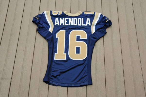 2010 St. Louis Rams - Danny Amendola Game Worn Jersey Photo Style Match