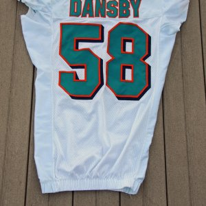 2010 Dolphins Karlos Dansby Game Worn Jersey