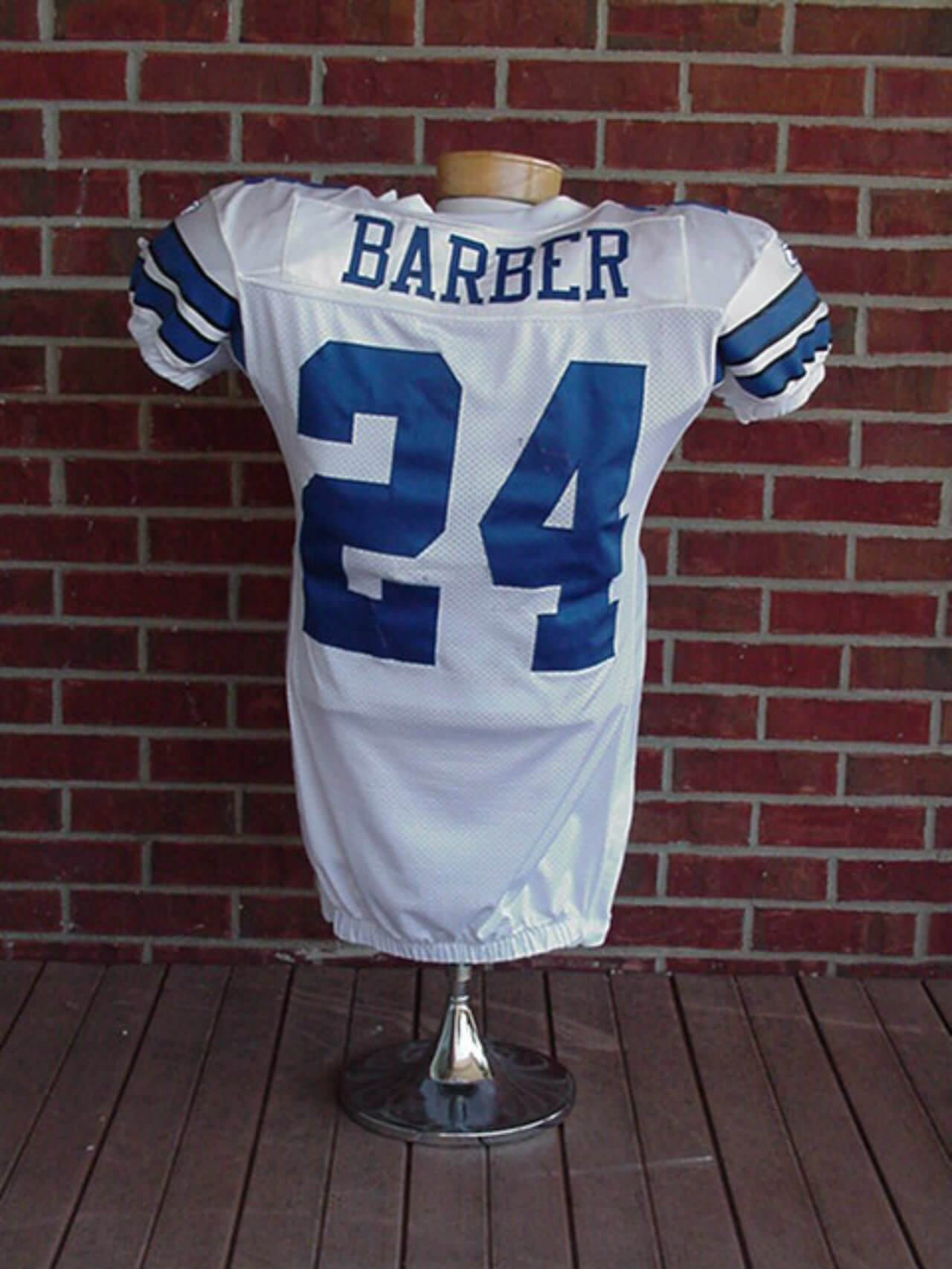 new style 4a419 f3813 2007 Cowboys Marion Barber Game Worn Jersey