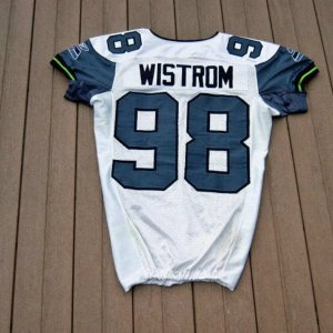 2006 Seattle Seahawks Grant Wistrom Game-Worn Jersey